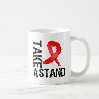 Blood Cancer Take A Stand Classic White Coffee Mug