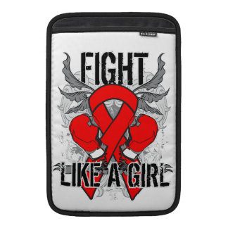 Blood Cancer Ultra Fight Like A Girl Sleeves For MacBook Air
