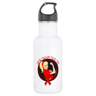 Blood Cancer We Can Do It (W.01) 18oz Water Bottle