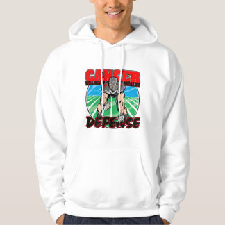 Blood Cancer Will Never Break My Defense Hooded Sweatshirt