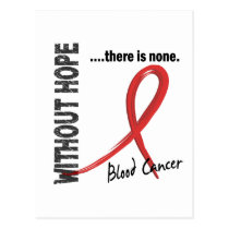 Blood Cancer Without Hope 1 Postcard