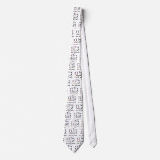 Blood Cell Lineage (Biology Health Medicine) Neck Tie