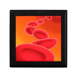 Blood Cells Keepsake Boxes