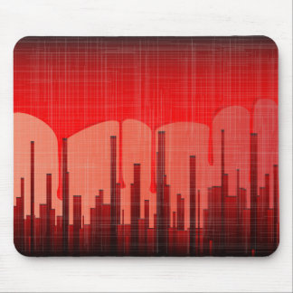 Blood City Grunge Mouse Pad