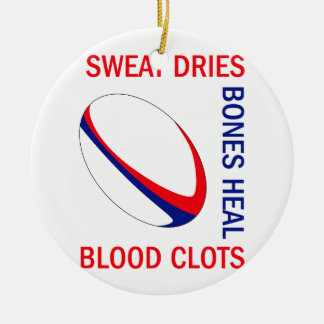 BLOOD CLOTS BONES HEAL CERAMIC ORNAMENT