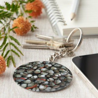 Blood Cockle Shells Keychain