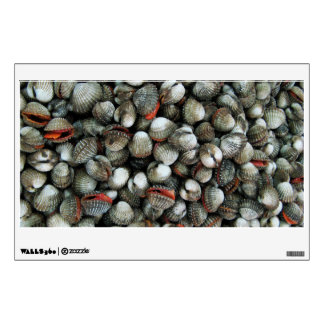Blood Cockle Shells Wall Sticker