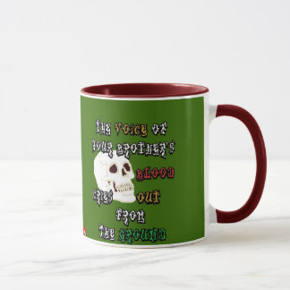 Blood Cries Out Mug