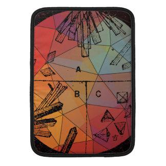 """Blood Crystals Colorful Prism 13"""" Macbook Air MacBook Sleeves"""