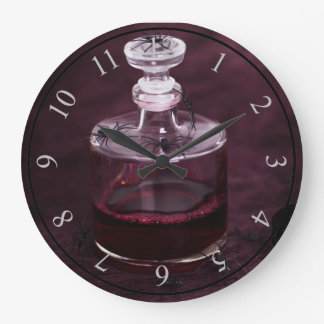 Blood Decanter Large Clock