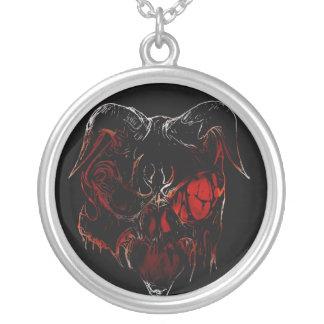 Blood Demon Necklace v1