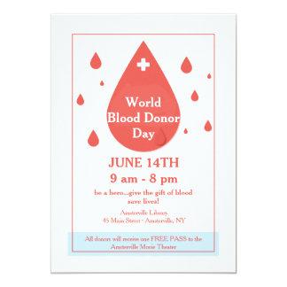 Blood Donation Announcement