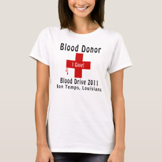 blood donor 2011 W-drops T-Shirt