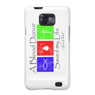 Blood Donor Samsung Galaxy SII Cases
