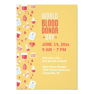 Blood Donor Day Announcement