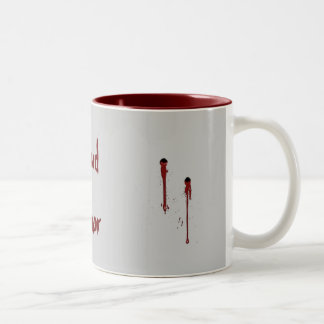 Blood Donor Two-Tone Coffee Mug