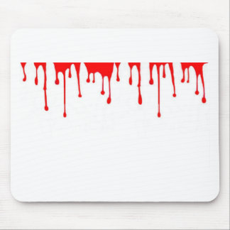 Blood Drip Halloween Party gifts by sharles Mouse Pad