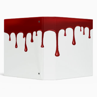 Blood Drip Set Binder