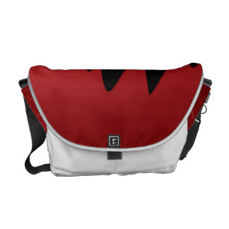 Blood dripping courier bag