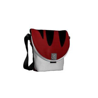 Blood dripping messenger bag