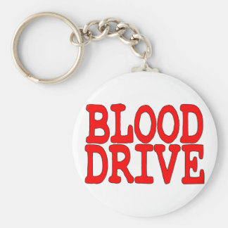 Blood Drive Keychain