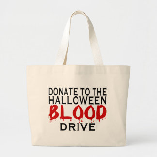 Blood Drive Large Tote Bag