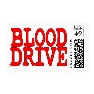 Blood Drive Postage