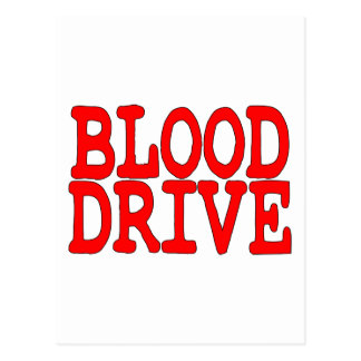 Blood Drive Postcard