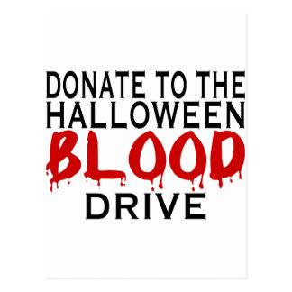 Blood Drive Postcard
