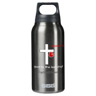 Blood Drop gotGod316.com Cross Insulated Water Bottle