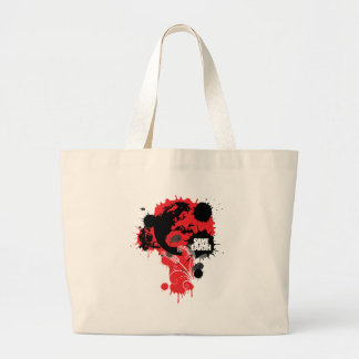 Blood Earth Canvas Bags