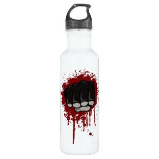 Blood fist 24oz water bottle