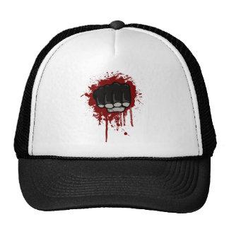Blood fist trucker hat