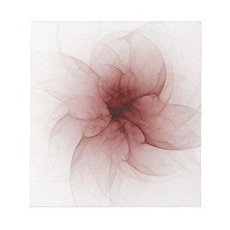 Blood Flower Fractal Notepad