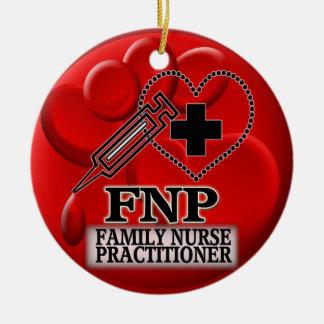 BLOOD FNP  ORNAMENT - FAMILY NURSE PRACTITIONER