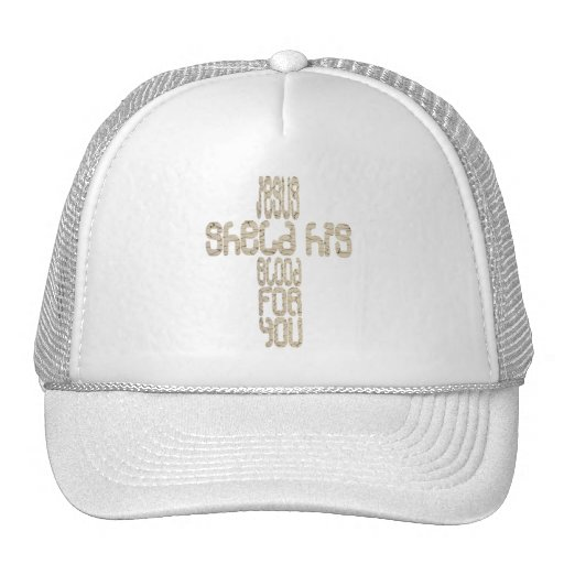Blood for you Croix Terre Mesh Hats
