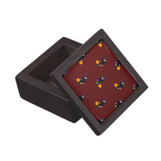 Blood Gash Red Halloween Toddler Witch Premium Jewelry Boxes