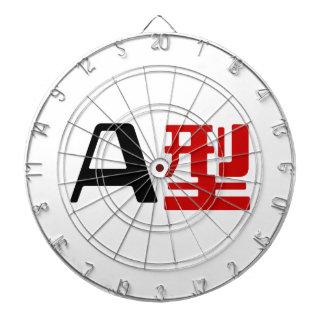 Blood Group A Japanese Kanji Dart Board