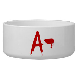 Blood Group A- Negative #Horror Hospital Bowl