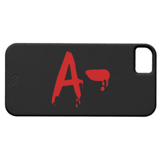Blood Group A- Negative #Horror Hospital iPhone 5 Cover