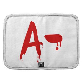 Blood Group A- Negative #Horror Hospital Folio Planner