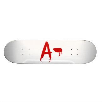 Blood Group A- Negative #Horror Hospital Skateboard