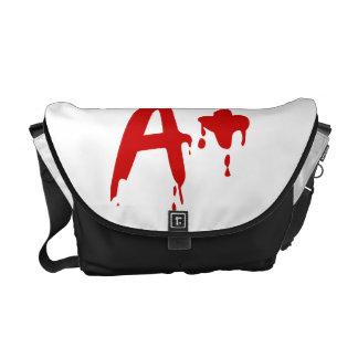 Blood Group A+ Positive #Horror Hospital Courier Bag