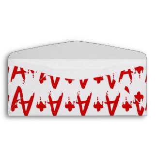 Blood Group A+ Positive #Horror Hospital Envelope