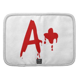 Blood Group A+ Positive #Horror Hospital Folio Planner