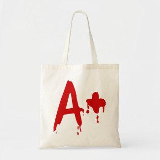 Blood Group A+ Positive #Horror Hospital Tote Bag