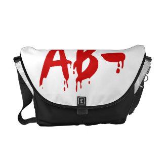 Blood Group AB- Negative #Horror Hospital Courier Bag