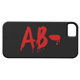 Blood Group AB- Negative #Horror Hospital iPhone SE/5/5s Case