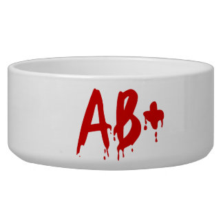 Blood Group AB+ Positive #Horror Hospital Bowl