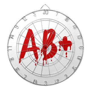 Blood Group AB+ Positive #Horror Hospital Dart Board